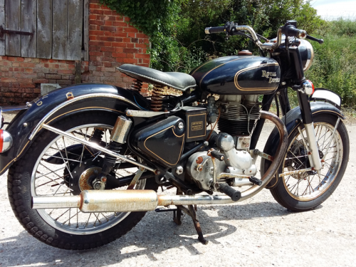 Enfield Bullet for storage