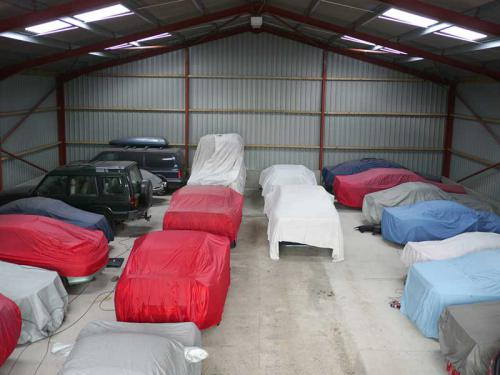 Cars Stored at Manor Car Storage